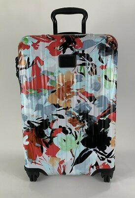 Tumi V3 Lightweight International Carry-On Expandable Luggage Pacific Floral