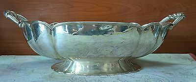 ANTICO CENTROTAVOLA ART DECO ARGENTO 800 SOLID SILVER 1940's ANTIQUE CENTERPIECE
