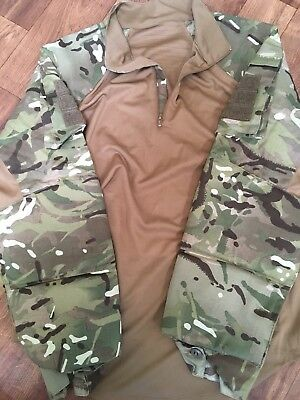 Padded British Army Ubac Mtp Shirts, Medium Size