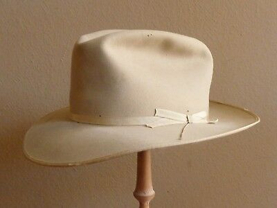 Vintage Stetson Royal DeLuxe Open Road Hat - 7 1/8