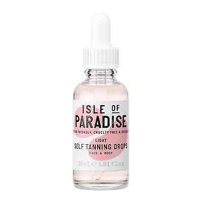 Isle of Paradise Self-Tanning Drops Light 30ml Fake Tan