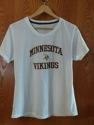 Nice MINNESOTA VIKINGS WOMENS Nike Primary Logo T Shirt Purple $27.99  for sale