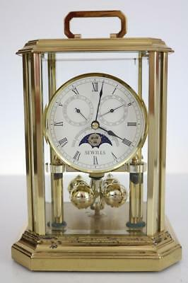 SEWILLS ANNIVERSARY CLOCK with DAY & DATE DIALS restore or parts