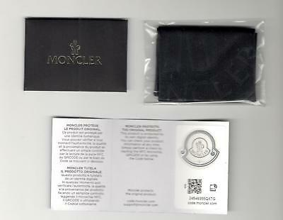Panno per pulizia occhiali Moncler nero - MONCLER Glasses Cleaning Cloth black