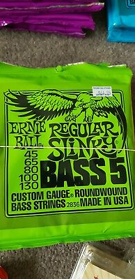 Ernie Ball Regular Slinky 2836 Bass Guitar Strings Set of 2
