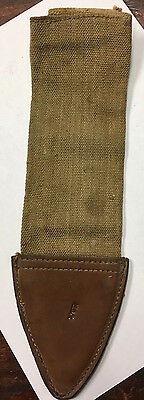1918 Bolo Canvas Sheath, Cover Only. Unused.
