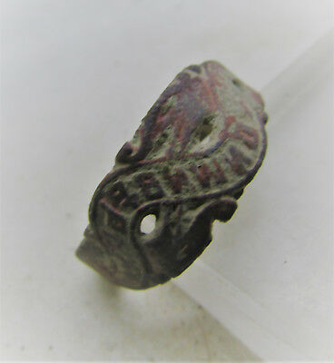 Beautiful Late Medieval Openwork Ring With Inscriptions Detector Finds