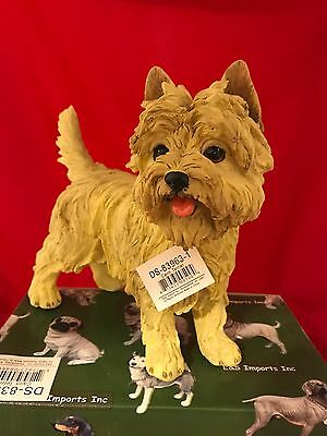 LARGE WHEATEN CAIRN TERRIER Figurine, 9 inches long, New in Original Box