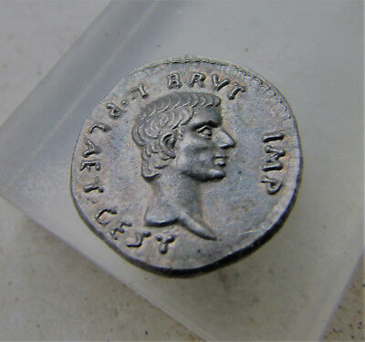 Unresearched Roman Silver Denarius