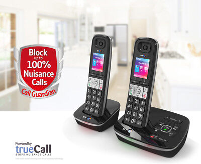 NEW TELSTRA Call Guardian 301 Qaltel CORDLESS HOME PHONES ANS/MACHINE 2 HANDSETS