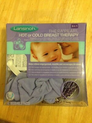 Lansinoh THERA-PEARL Hot Or Cold Breast Therapy Breast Pads Feeding / Post Natal