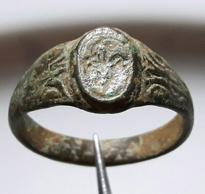 ** Byzantine Ancient Bronze RING **