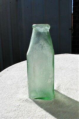 Large Heavy Crude Thick Glass Food Jar