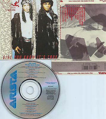 Milli Vanilli-Girl You Know It's True-89-Usa-Arista/hansa Music Arcd8592-Cd-Mint
