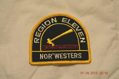 BSA  Patch REGION ELEVEN  NOR'WESTERS
