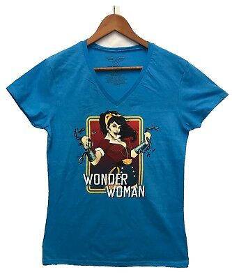75cd40bd2d1df DC COMICS WONDER Woman Women s Juniors Sleeveless Tassel Shirt Tie ...