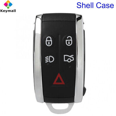 Remote Smart Prox Key Fob Shell Case With Blade For Jaguar X XF XK XKR X S-Type