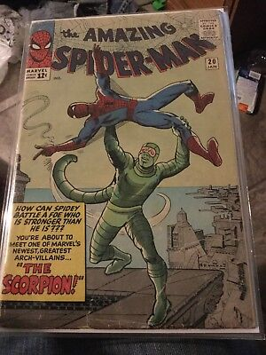 The Amazing Spiderman #20 1st Appearance Scorpion