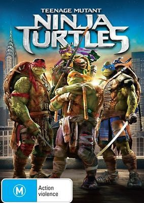Teenage Mutant Ninja Turtles (DVD, 2014) NEW + SEALED