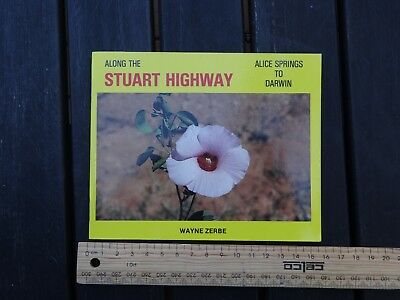 1 x OLD RETRO TRAVEL GUIDE ALONG THE STURT HWY ALICE SPRINGS TO DARWIN BW4