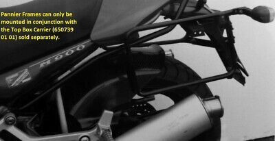 Ducati Monster M 600/750/900 bis Sidecarrier permanent mounted Black