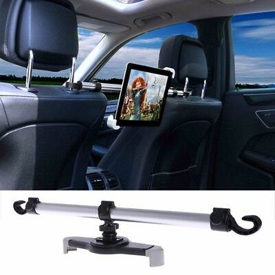 """Universal Aluminum Alloy Car Back Seat Mount Stand Holder For Tablet 7""""-11"""" NEW"""