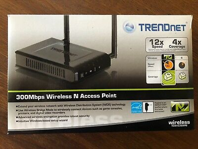 Point d'acces wifi N 300Mbps TrendNet TEW-638APB