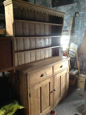 Antique Pine Dresser.
