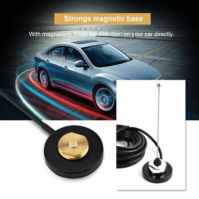UHF/VHF NMO Mount Magnetic Base For Car Taxi Mobile Radio Antenna RG-58 Cable SW
