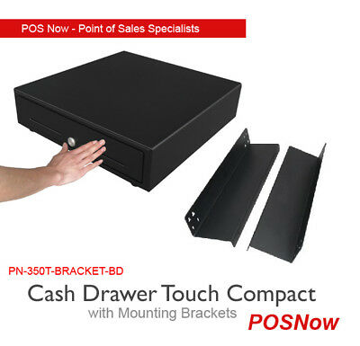 Heavy Duty Cash Drawer Touch Compact Manual & Mounting Bracket Combo