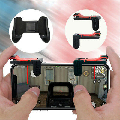 2x Gaming Trigger Cell Phone Game Controller Gamepad for IOS Android System