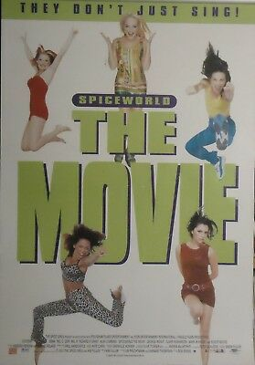 "Spice Girls : ""Spiceworld""   The Movie  Poster 1997"