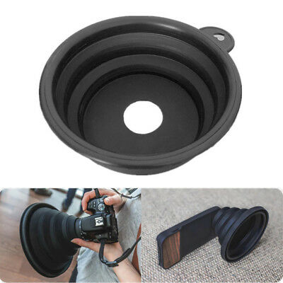 Lens Hood Silicone Anti-reflective Durable For Camera Photography Outdoor Indoor