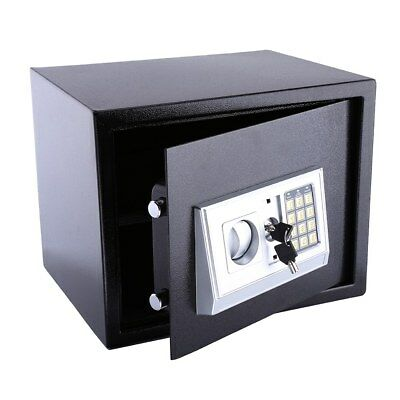 Large Steel Safe Digital Key Electronic Security Home Office Money Safety Box20L
