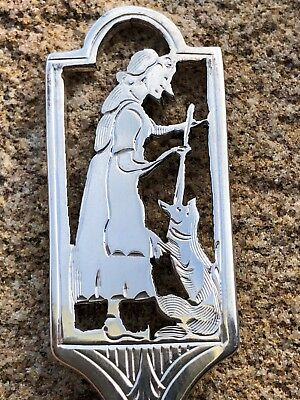Silver Spoon - Walker & Hall - Sheffield - 1957 - Old Mother Hubbard & Her Dog