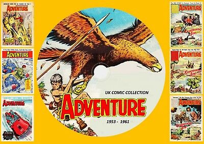 Adventure Comic UK ON DVD Rom