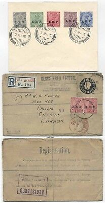 Indian Expeditionary Force I.e.f. - Lot Of Two Covers
