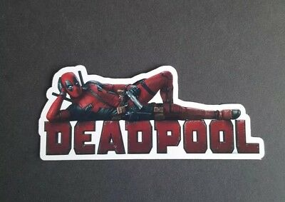 S516 Marvel Deadpool super hero Sticker laptop book phone tablet wall