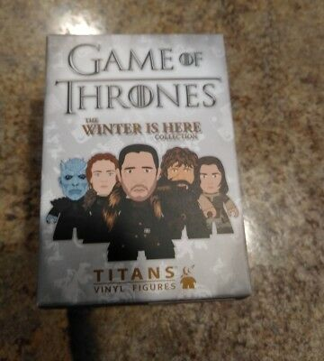 New Titan Vinyl Mini GAME of THRONES Winter Here CHASE loot crate sealed surpris