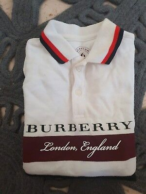 Burberry Baby Polo Shirt size 6 Months