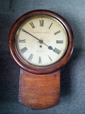 Fusee Railway Clock, 12 inch dial, B.R.(M) markings