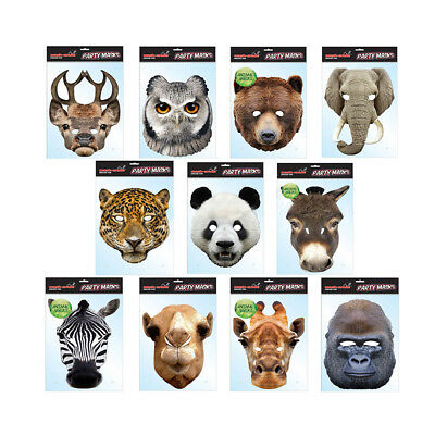 ** STAG ANIMAL PARTY MASK FANCY DRESS NEW ** LADIES MENS CHILD DEER