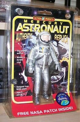 Mercury Astronaut Figure-Action Products-1998-Unused in Package