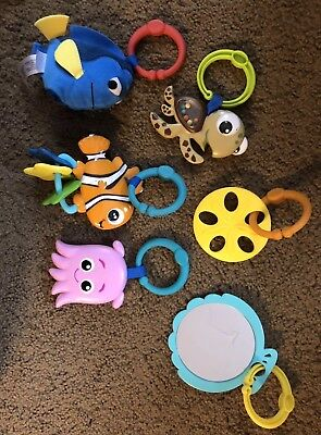 Finding Nemo Characters Replacement Rings Mr. Ray Play Mat Activity Gym Disney