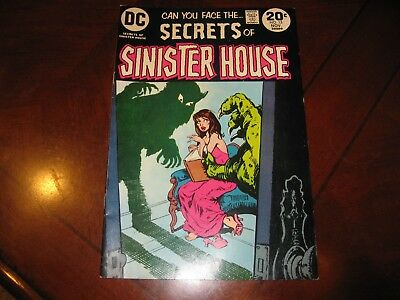 Secrets of Sinister House #15 DC Comics 1973 Very Fine +