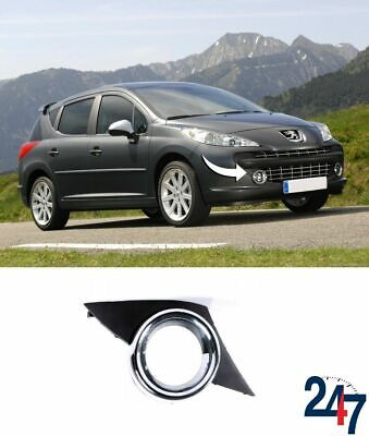 New Peugeot 207 Sport 2006-2009 Front Bumper Fog Light Grille Trim Right