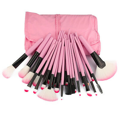 Best Professional Makeup Brushes Set - 32 Pc Cosmetic Foundation Make up Kit