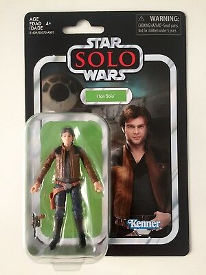 """VC124 HAN SOLO Hasbro """"Kenner"""" STAR WARS Vintage Collection 2018"""