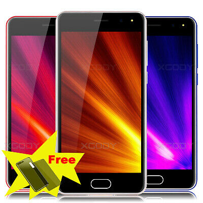 "2019 New 5.0"" GSM Unlocked Android 7.0 Cell Phones Dual SIM 3G AT&T Smartphone"
