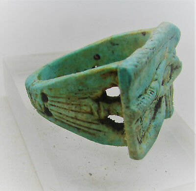 Beautiful Rare Egyptian Faience Amulet - Ptolemaic Period